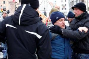 Anti-NATO-Demo in München ein Erfolg