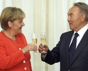 Merkel und die Diktatoren: Rohstoffe gegen Menschenrechte