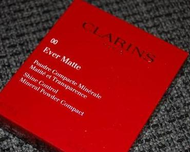 Clarins Ever Matte Poudre Compacte Minérale 00 transparent opale