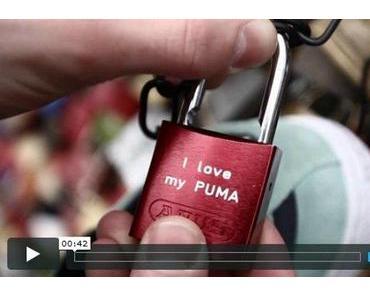 Sneaker Freaker | PUMA Suede Liebesschloss – Valentinstags-Special 2012