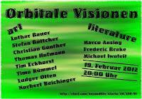 Orbitale Visionen: Ausstellung mit Lesungen in Second Life