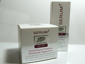 Produkttest Boots Serum7  Beauty Serum & Schützende Tagescreme