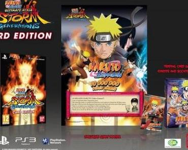 naruto shippuden ultimate ninja storm generations – Collector's Edition