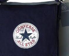 Shopper CONVERSE CHUCKS HANDTASCHE TASCHE BAG SWEAT Vintage