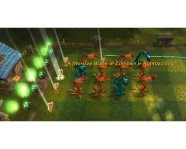 Peaceblooms vs Ghouls in World of Warcraft: Cataclysm!