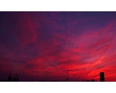 Der Himmel über Halle XXXV