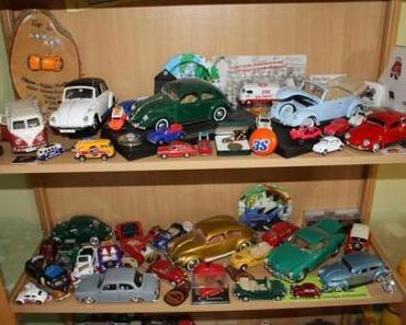 Sonderausstellung der VW Käfer Miniaturen des AutoMuseum Volkswagen