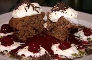 Stevia-Schokolade Muffins