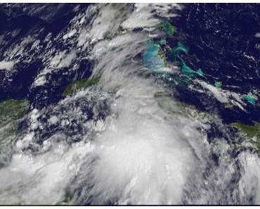 Tropisches Tief auf dem Weg nach Florida und North- und South Carolina (USA)