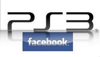 PS 3 Firmware Update 3.50. Facebook ins System integriert.