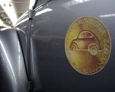 Vor 40 Jahren wurde der VW Käfer wird Weltmeister