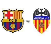 23. Spieltag Primera Division FC Barcelona - FC Valencia