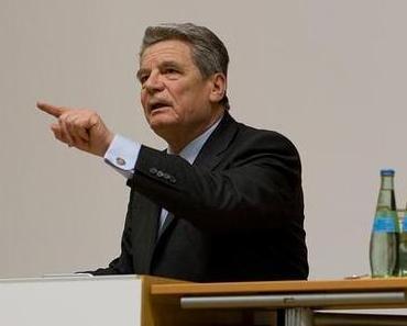 Der böse Wulff war gestern: Heute grüßt der Gauckler