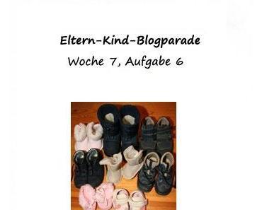 """Eltern-Kind-Blogparade 6.Aufgabe """"Auf Schritt und Tritt"""""""