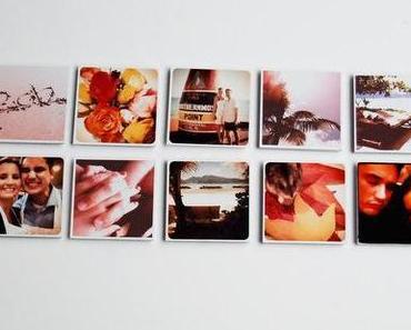 handgemachte sache no 3 // fotomagnete // diy