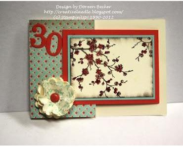 Joy Fold Geburtstagskarte