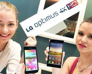 Optimus 4X HD offiziell vorgestellt – LG wirft vor dem MWC 2012 mit Smartphones um sich