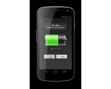 Akku-Battery für Android bringt den Akkustand in eure Statusleiste