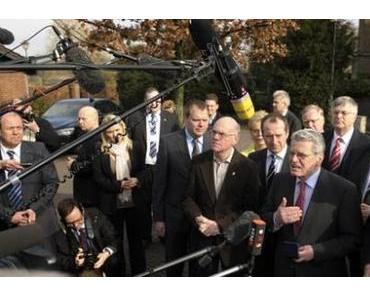 Joachim Gauck: Gerechtigkeit gegen jedermann. Außer DIE LINKE.