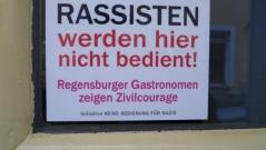 Couragierte Regensburger Gastronomen: Kein Bier für Nazis