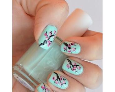 Nageldesign: Cherry Blossom Nails