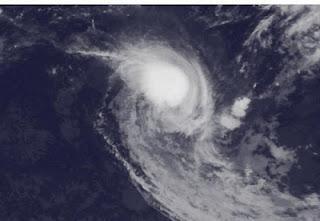 KOJI-JONI jetzt starker Wirbelsturm - Mauritius weiterhin nicht bedroht