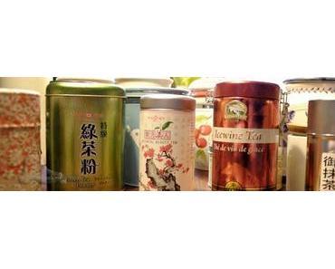 Grüntee, Oolong, Mate, Rooibos – Man kann nie genug Tee vorrätig haben!