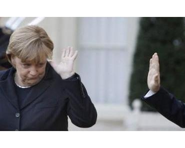 """Merkel unterstützt Sarkozy bedingungslos: """"Egal was er tut"""""""