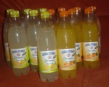 Gerolsteiner Limonade Zitrone und Orange im Test
