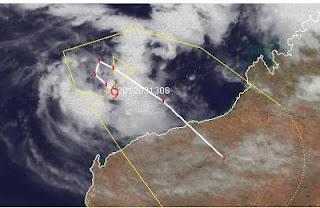 Tropischer Zyklon LUA vor Nordwest-Australien wird wahrscheinlich zu einem Hurrikan