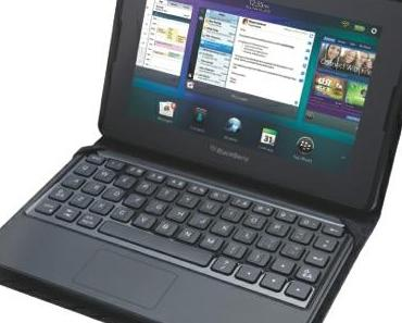 Neues Playbook-Zubehör: BlackBerry Mini Keyboard with Convertible Case.