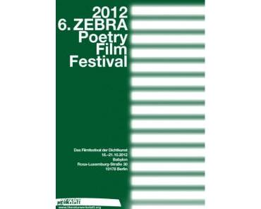 Contest: Apply now for the 6th ZEBRA Poetry Film Festival