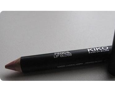 [Review&Swatch;] Kiko - Pencil Lip Gloss Baby Pink 07