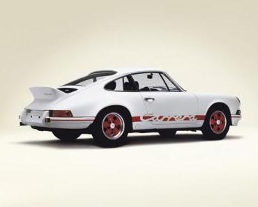 Porsche 911 Carrera RS 2.7 wird 40 Jahre und ist auf der Techno Classica 2012