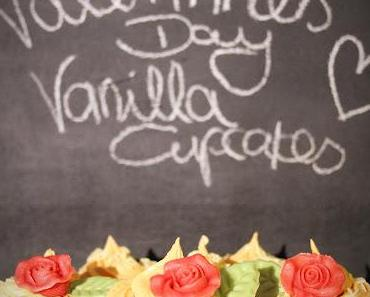 Be my Valentine - Vanilla Cupcakes