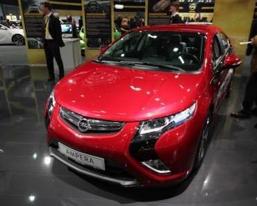 Opel Ampera wird ausgeliefert