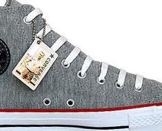 Converse All Star Chuck Taylor 504341 Chucks Schwarz #Silber