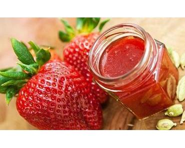 Erdbeer Marmelade mit Kardamom Rezept