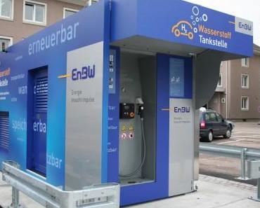 EnBW stellt Wasserstankstelle vor