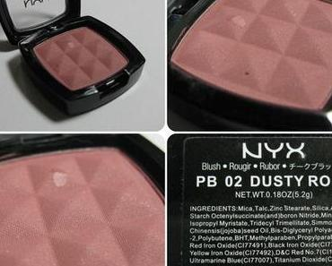 [Swatch] NYX Blush – Dusty Rose