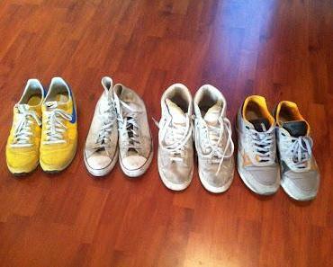 Sneaker waschen - Wie bekommt man Sneaker wieder sauber