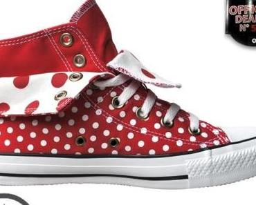 #Converse All Star Chuck Taylor 530045 Rot weiß White Polkadots #Dots Punkte