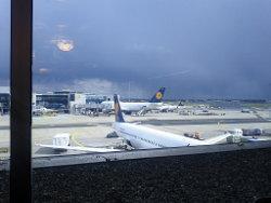 Flug Frankfurt - Boston im April