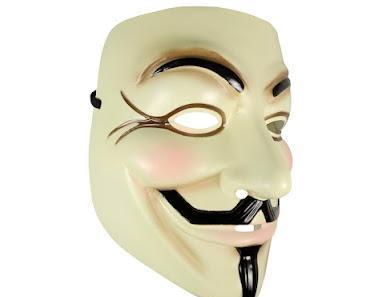 Guy Fawkes V Wie Vendetta Maske