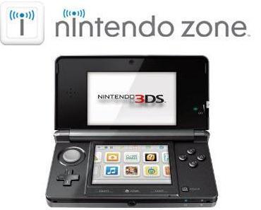Nintendo Zone - Über 25.000 freie Hotspots in Europa