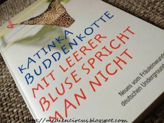 [Rezension] Mit leerer Bluse spricht man nicht - Katinka Buddenkotte