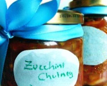 Zucchini-Chutney