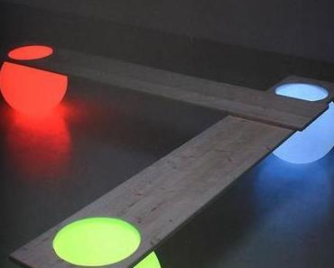 Art Design Auction Dorotheum - Light Ball Bench by Manfred Kielnhofer