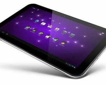 Toshiba Excite 13 Zoll Tablet erreicht die FFC.