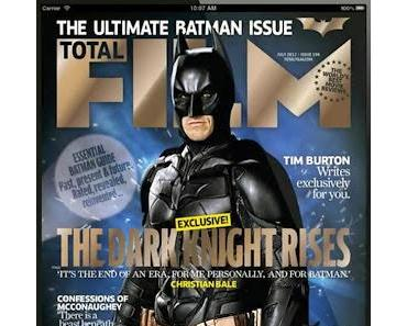The Dark Knight Rises: Total Film hievt den Helden aus Cover